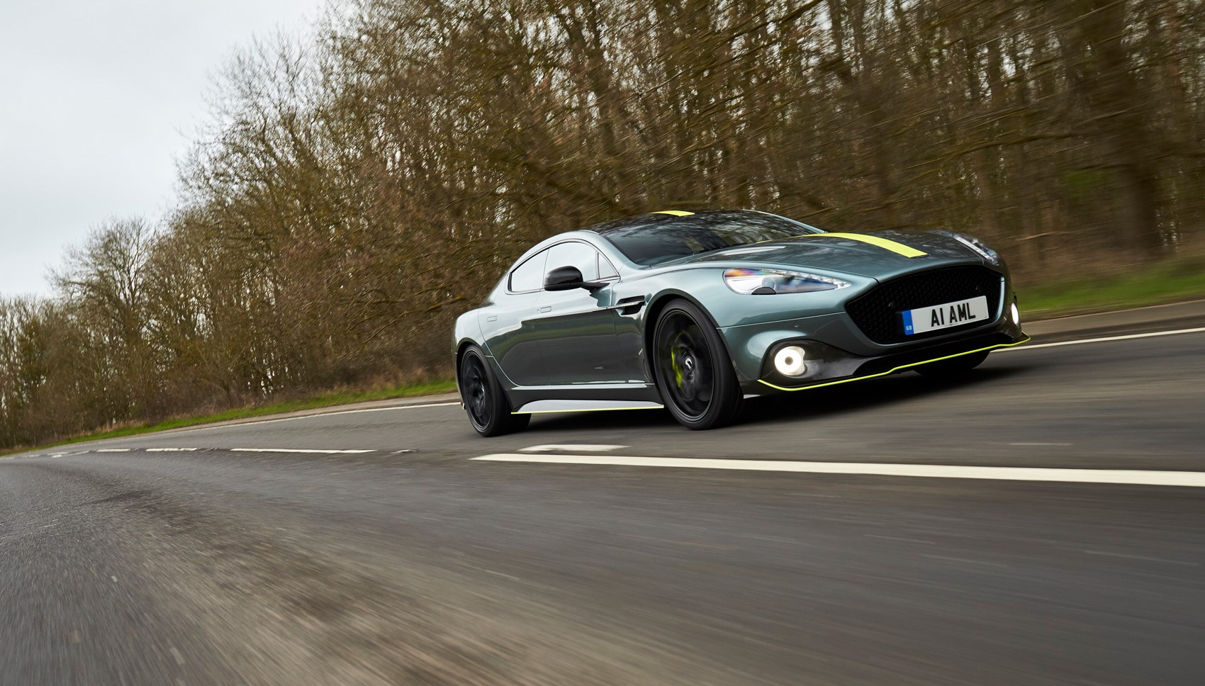 Aston Rapide AMR front tracking