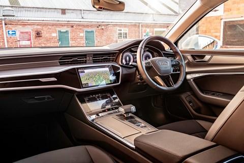 Audi A6 Avant LTT interior