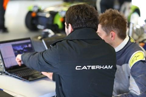 Caterham Enduro testing