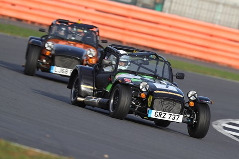 Caterham Enduro cornering