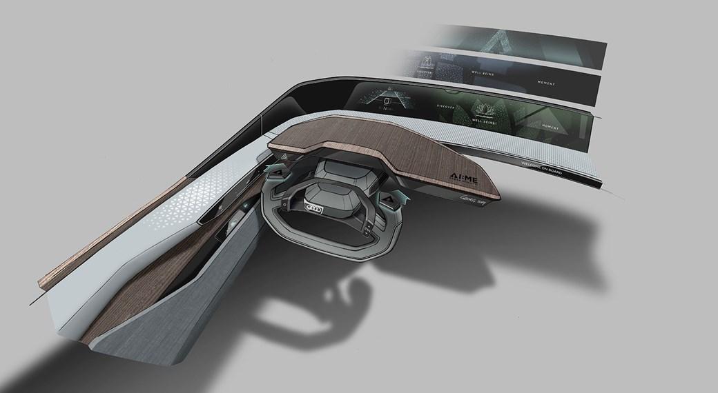 Audi AI: Ben konsept otomobil iç