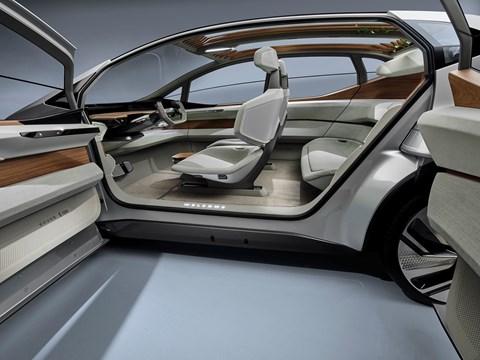 Audi AI:me concept car is electric and autonomous