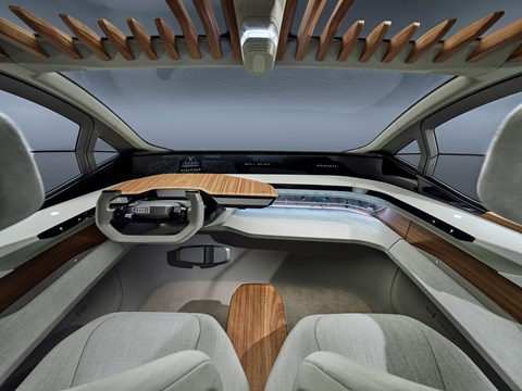Audi AI:me concept car interior