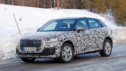 Audi Spy Shots Car Magazine