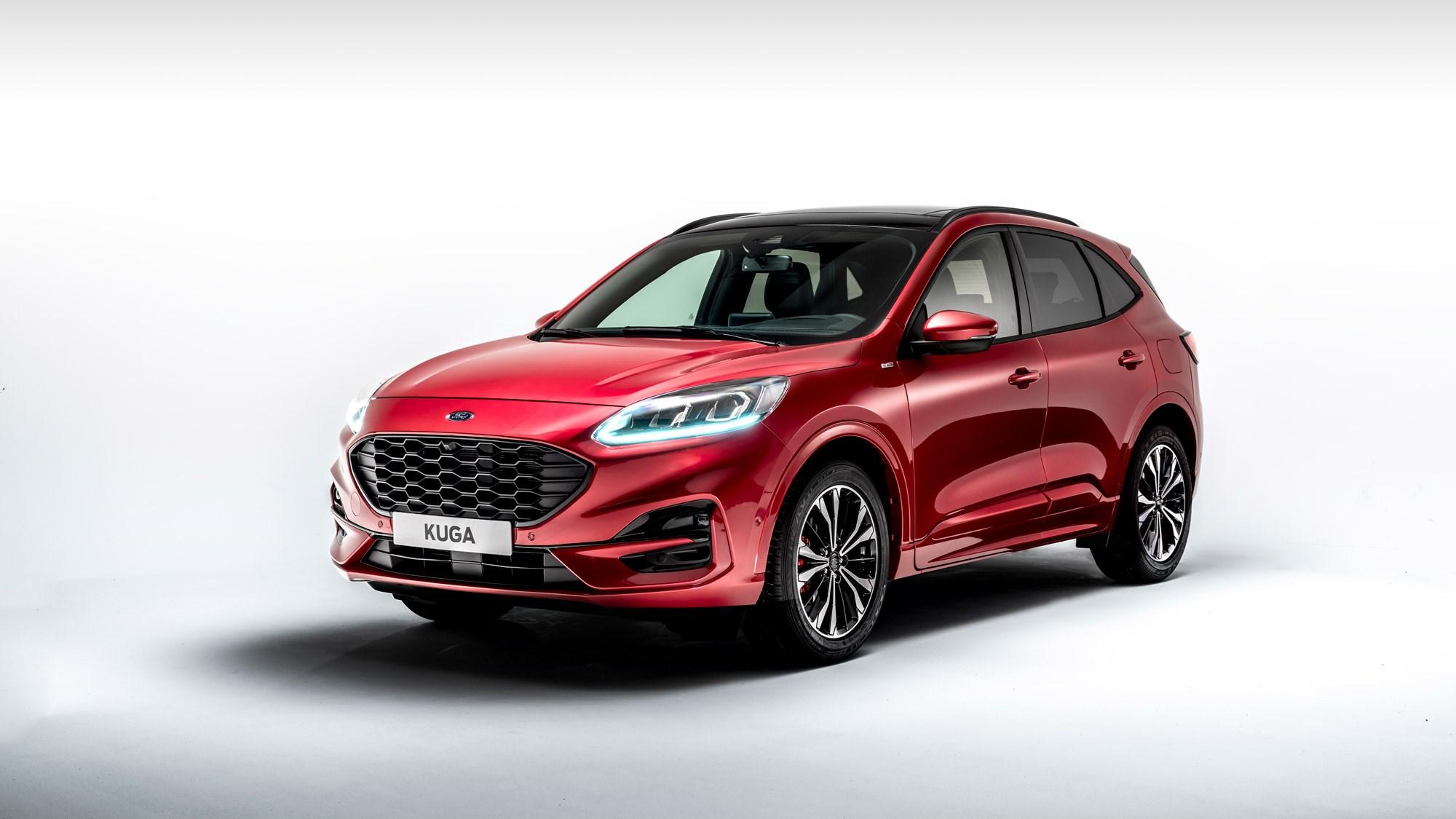 New 2019 Ford Kuga And PHEV