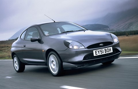 The original Ford Puma: a sports car based on the Ford Fiesta