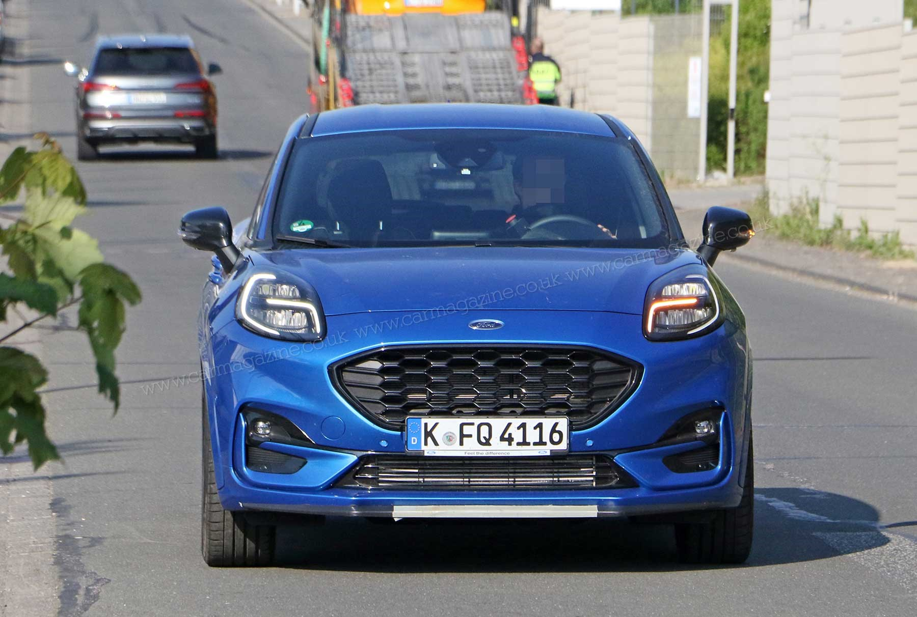 New Ford Puma St Shorn Of Disguise A Hot Hatch On Stilts Car
