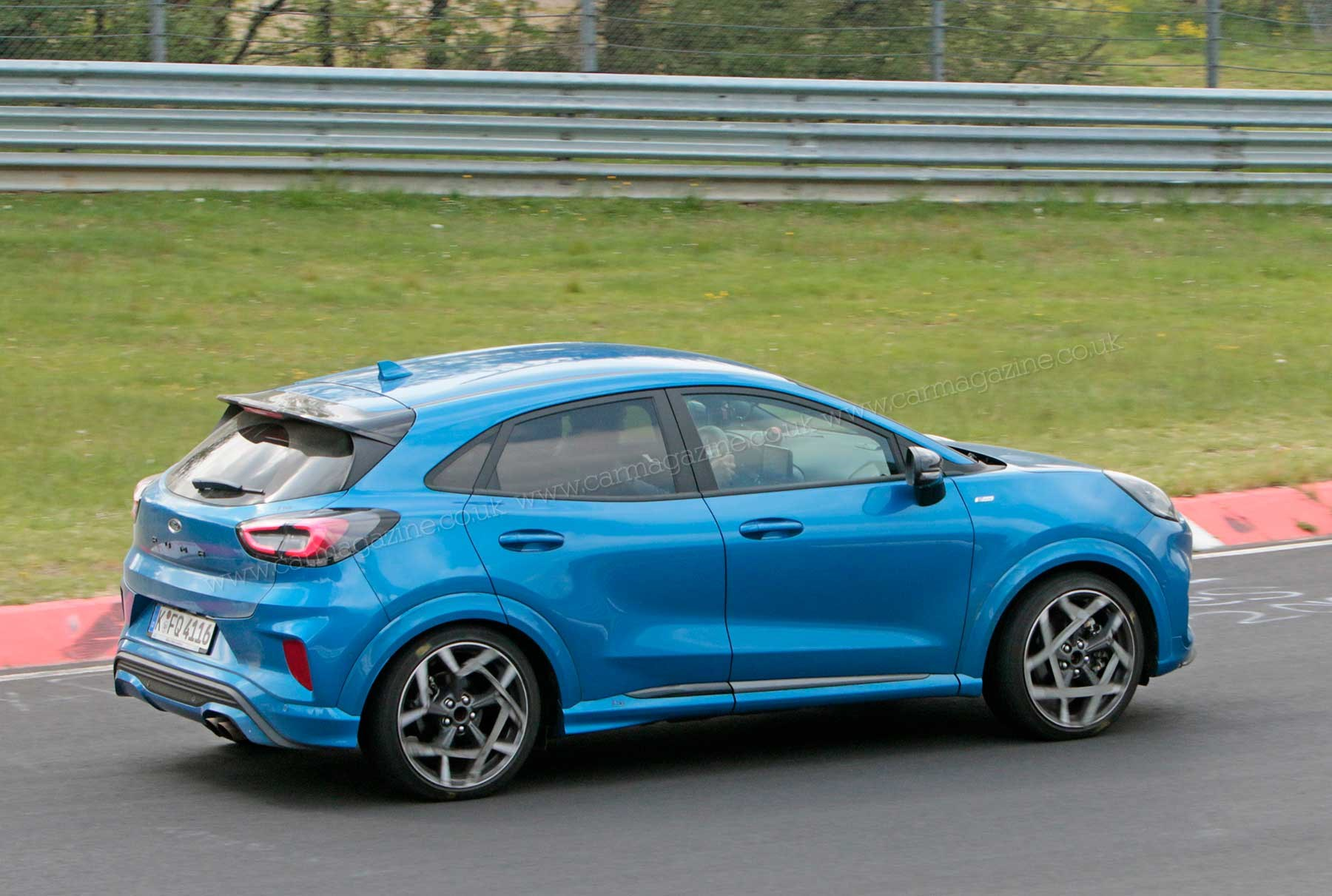 New Ford Puma ST Shorn Of Disguise: A Hot Hatch On Stilts