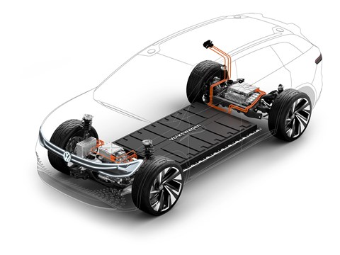 The Volkswagen MEB electric car architecture underpins the ID Roomzz