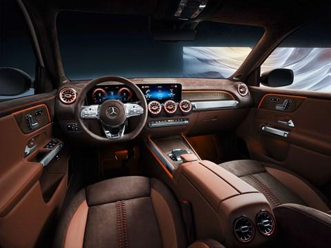 Mercedes GLB interior