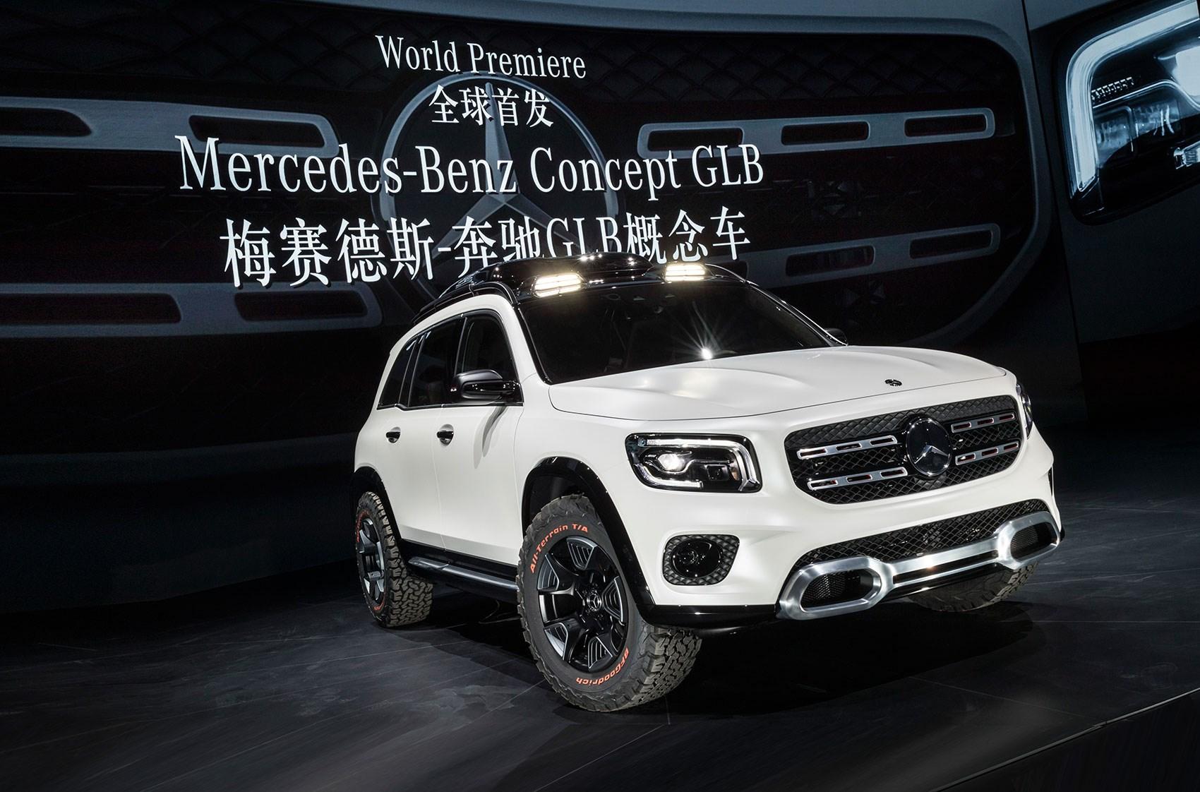 New Mercedes Glb Baby G Wagen Gets Amg Power At Frankfurt