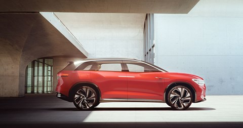 VW ID Roomzz: another electric car being unveiled at 2019 Shanghai motor show