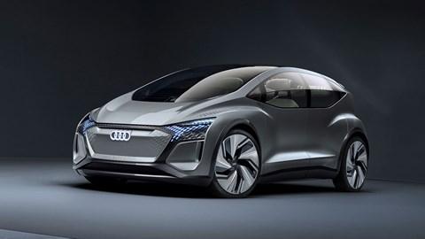 Audi AI:me concept car at the 2019 Shanghai motor show