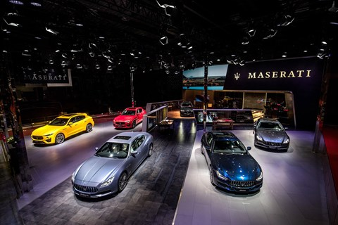 Maserati at the 2019 Auto Shanghai motor show