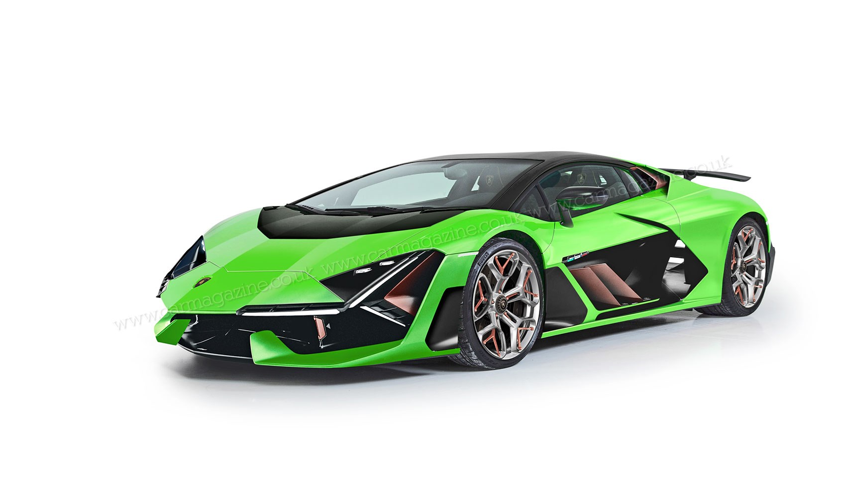 New 2022 Lamborghini Aventador Scooped Car Magazine