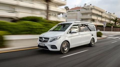 Mercedes-Benz V-class Marco Polo review: VW California rival