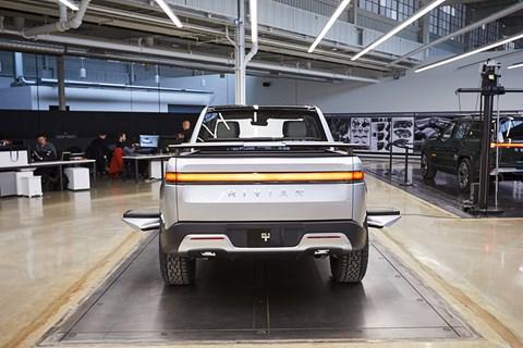 Rivian R1T rear