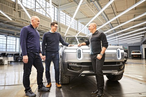 Rivian Hq Jeff RJ Mark