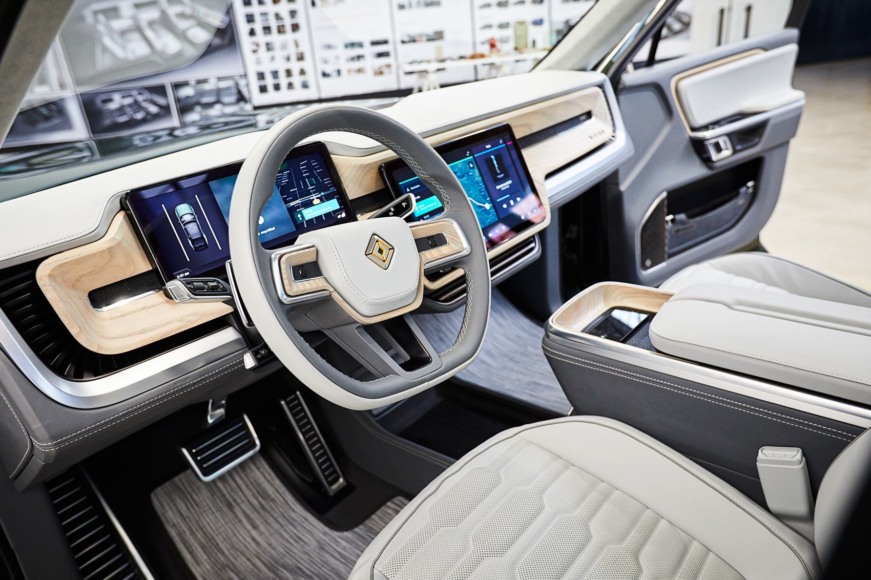 rivian  visit  pioneering  electric car brand car magazine
