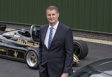 Phil Popham, the new boss of Lotus Cars