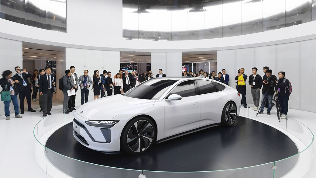 The NIO ET at the 2019 Shanghai motor show (Getty)