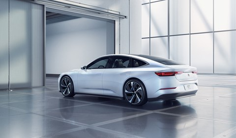 The NIO ET Preview was designed at the Chinese car maker's styling studio in Munich