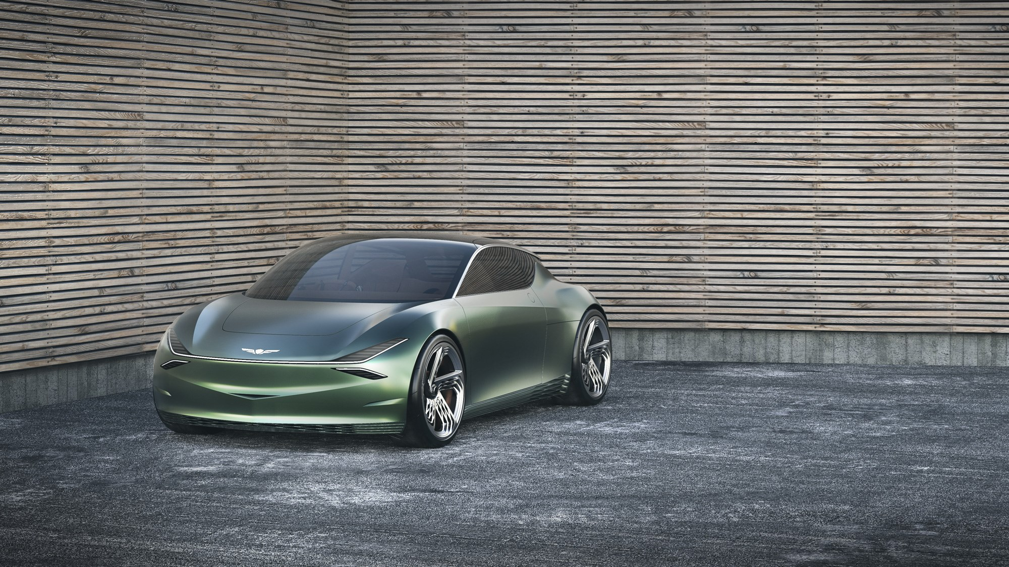 Minty Fresh: Genesis Unveils Exciting City Car Concept for Two