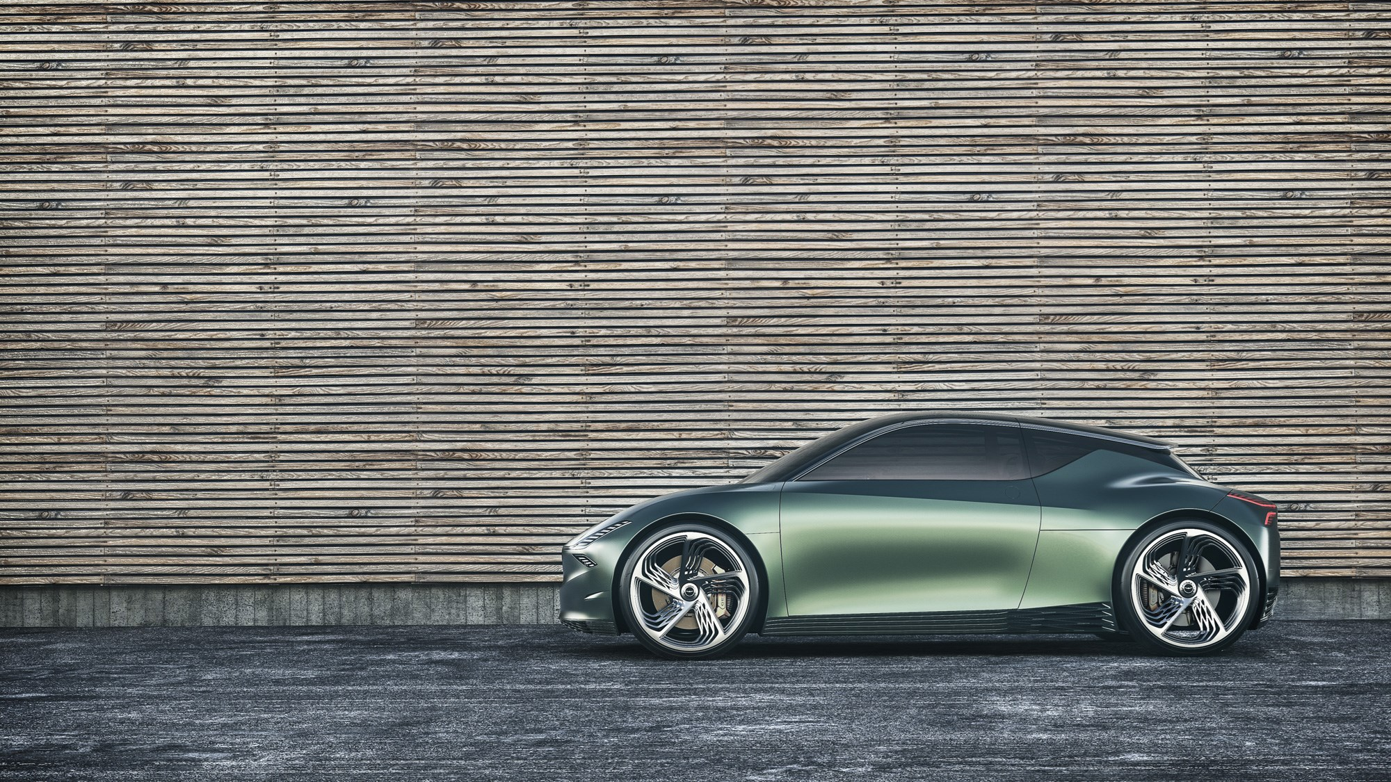 Genesis Downsizes with Mint Concept
