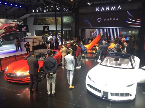 Karma had three treats at the 2019 Shanghai auto show