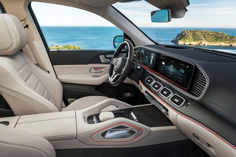 Mercedes GLS interior