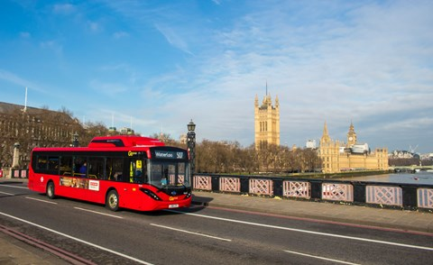 BYD has a hand in designing London's full electric buses on routes 521, 507, 360 and 153