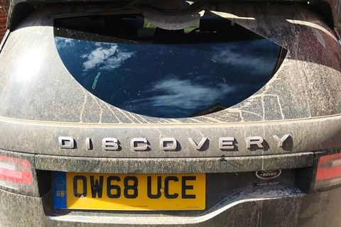 Land Rover Discovery rear wiper: CAR magazine long-term test