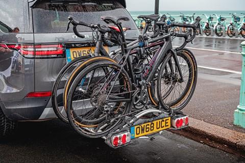 Discovery bike rack