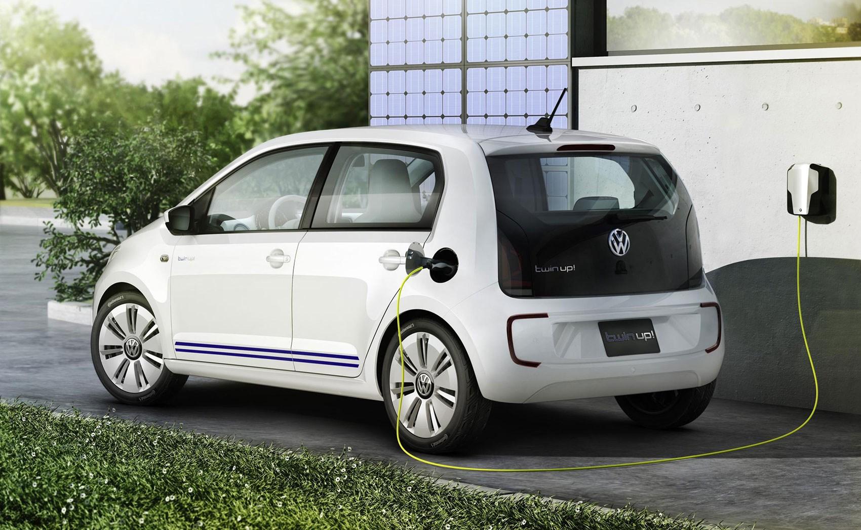 Electric VW Up, Seat Mii, Skoda Citigo