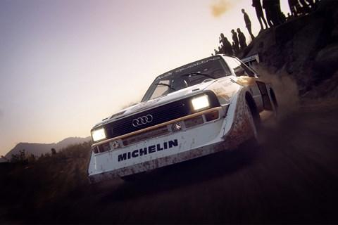 Dirt Rally 2 audi quattro