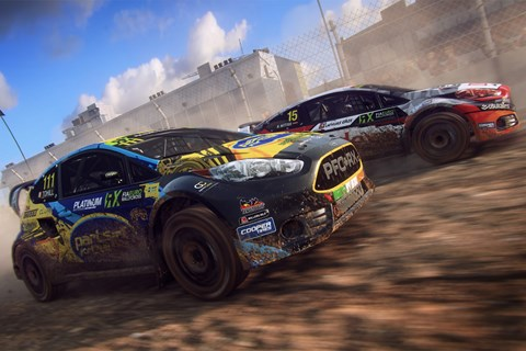 Dirt Rally 2 rallycross