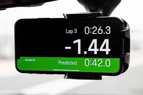 Track precision timer