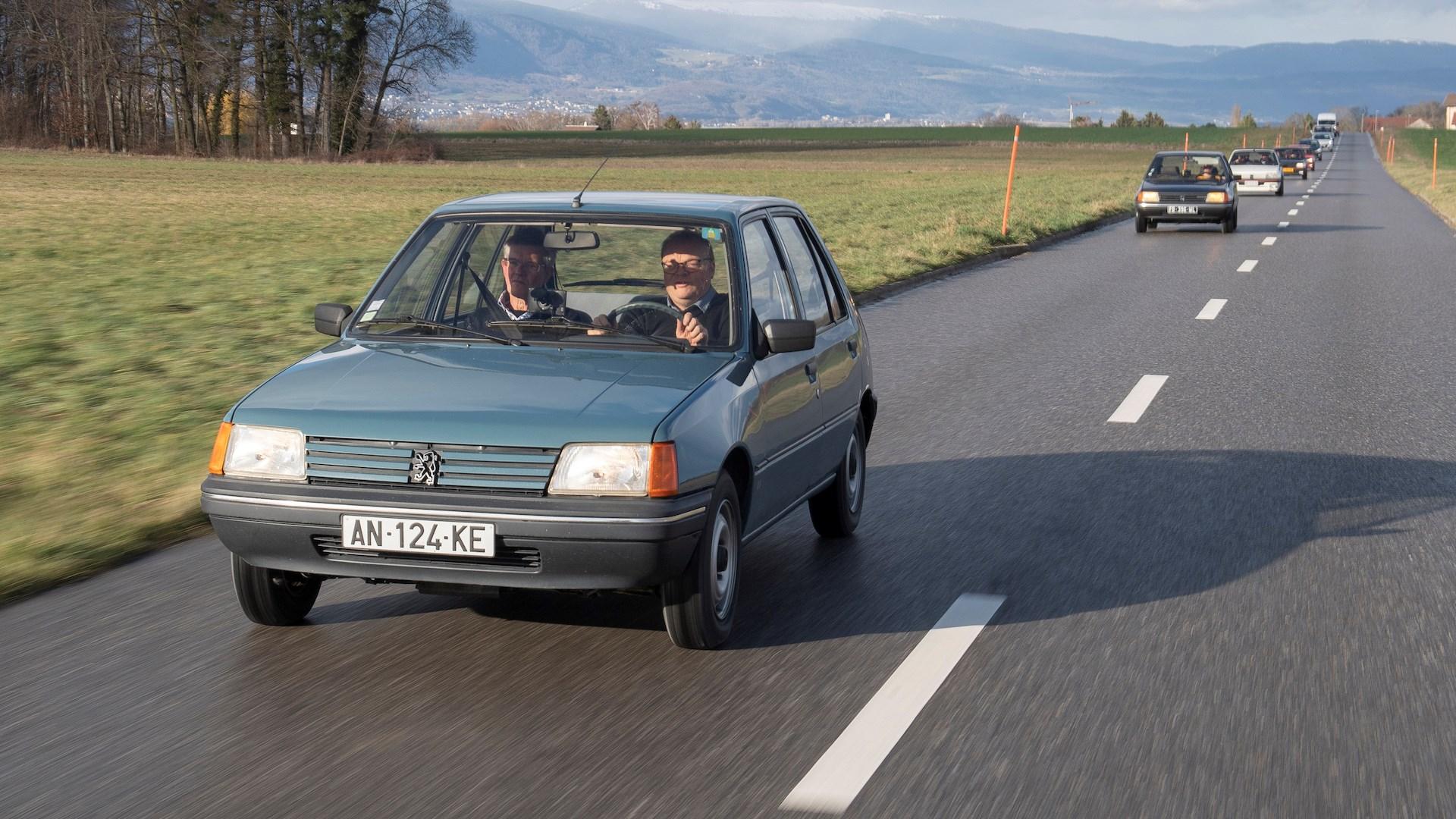 The Peugeot 205 GL