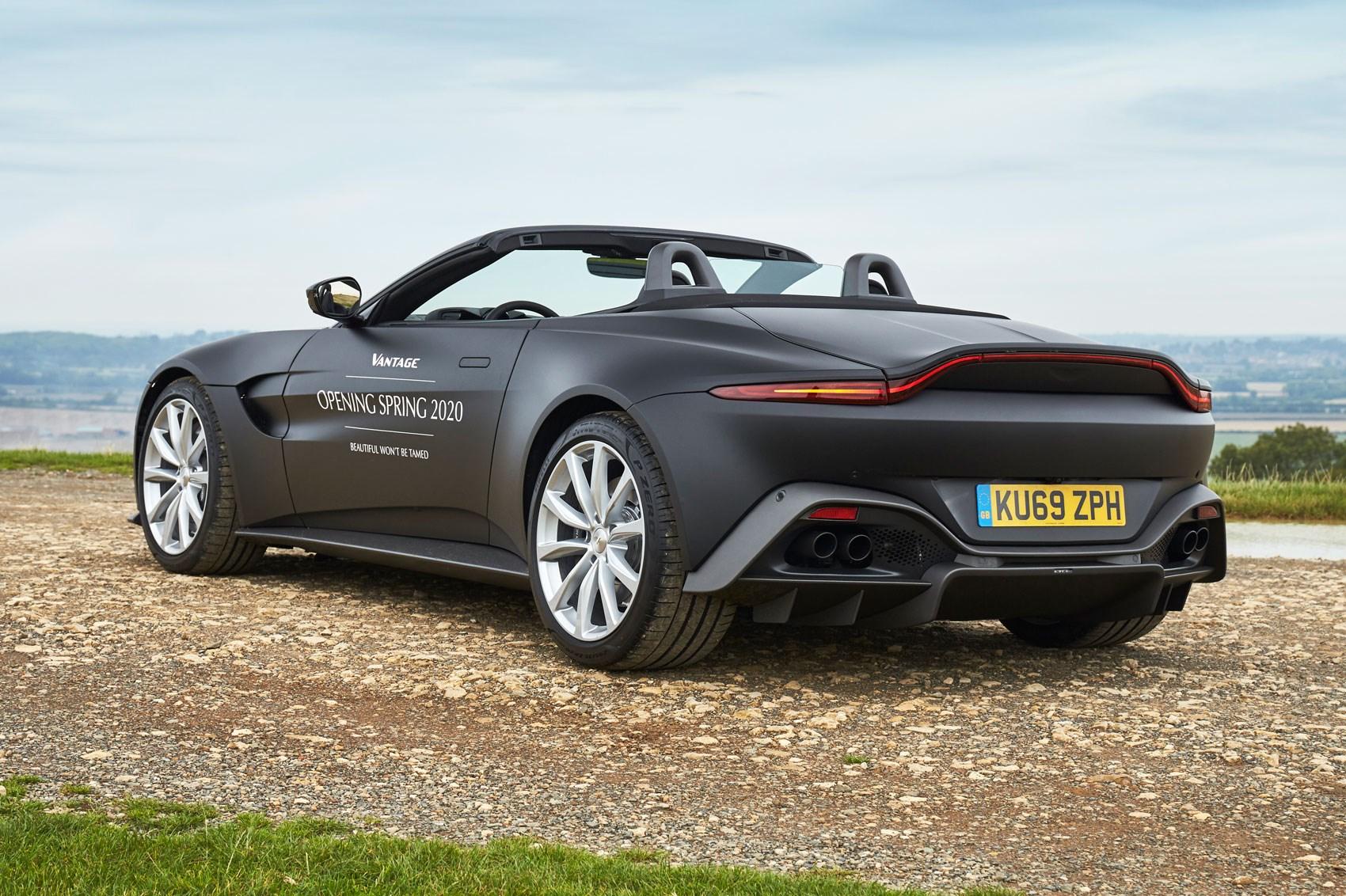 New Aston Martin >> Aston Martin Vantage The Car Lowdown Car Magazine