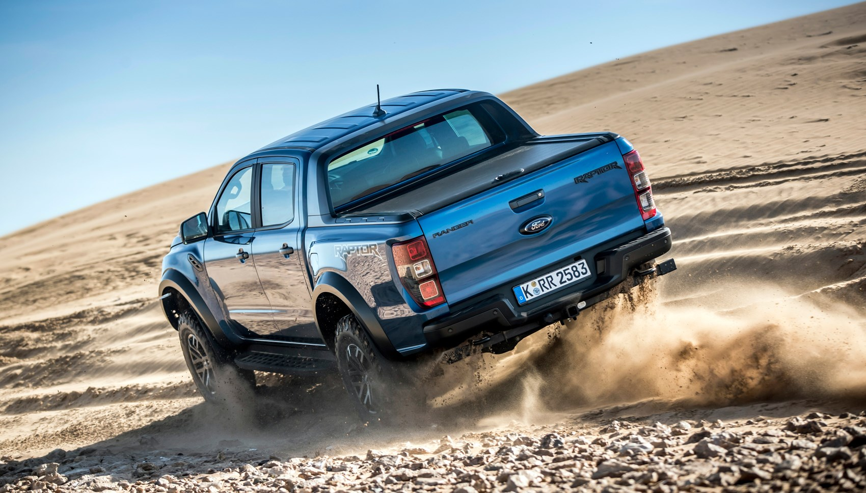 Ranger Raptor rear off road