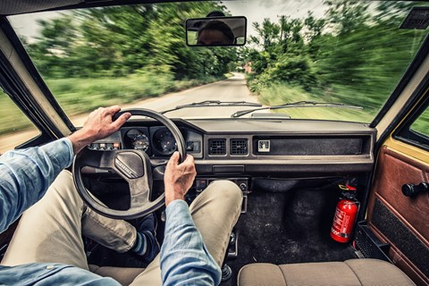 Yugo adventure interior driving