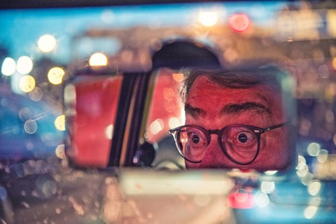 Yugo adventure rear view mirror
