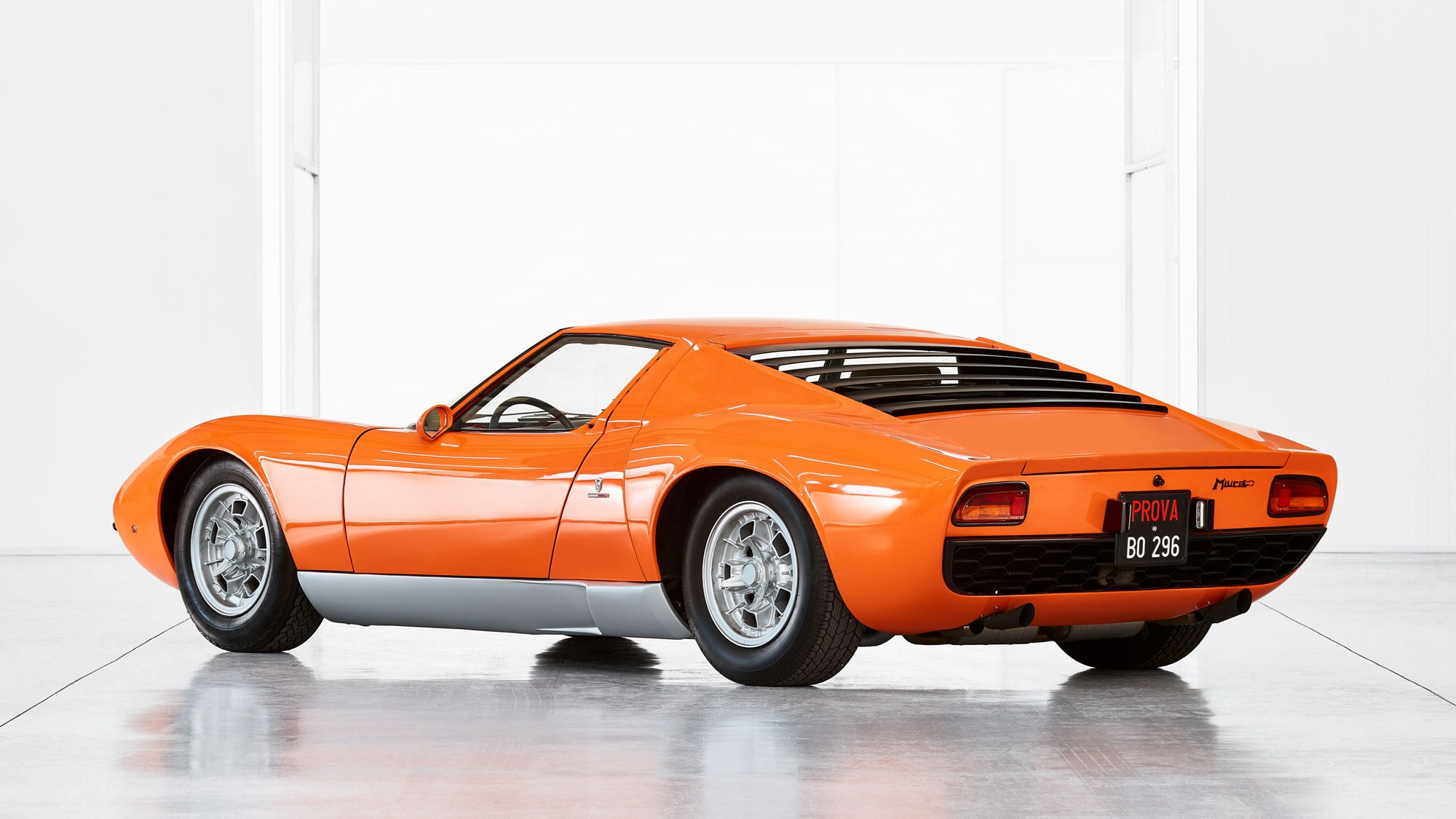 Lamborghini Miura The Last Hoorah Car Archive November 1972