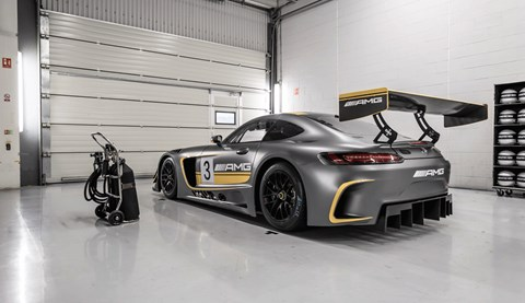 Mercedes 125 racing history AMG GT3