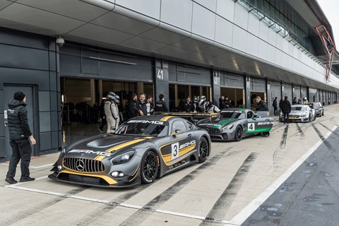 Mercedes 125 racing history pit lane
