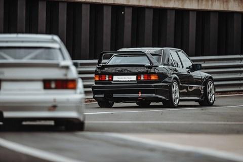 Mercedes 125 racing history 190