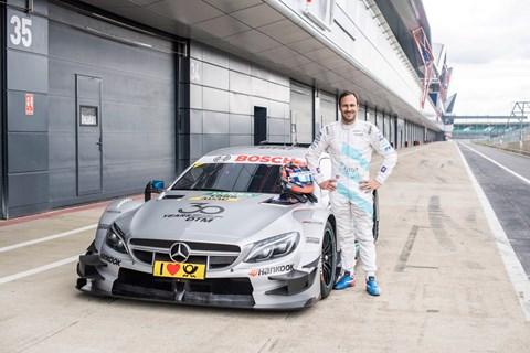 Mercedes 125 racing history CLK DTM