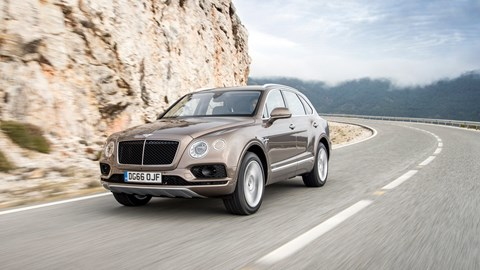 The big Bentley Bentayga