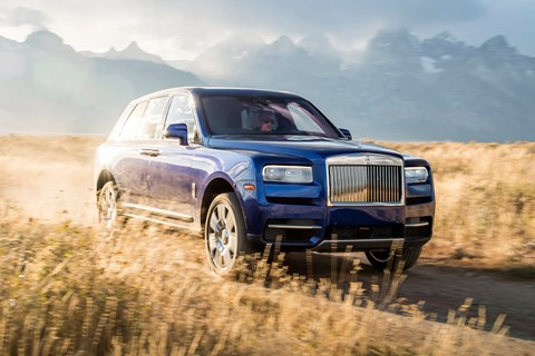 Even the Rolls-Royce Cullinan gets it