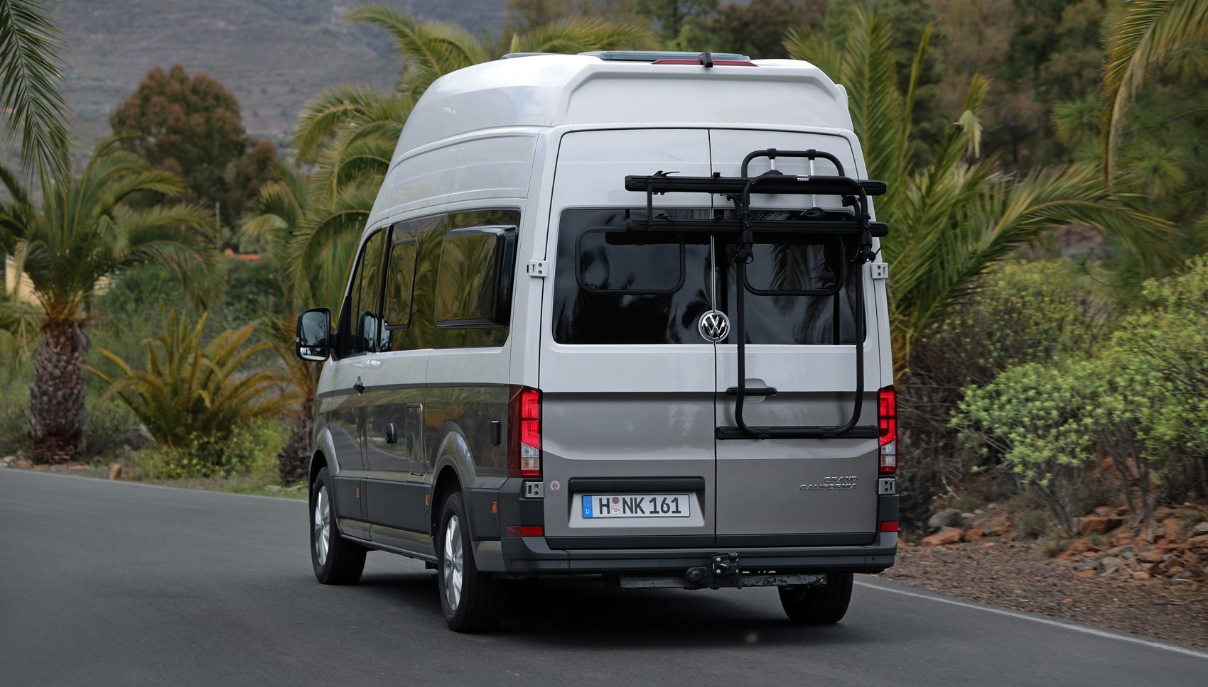 VW Grand California rear tracking